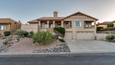 Fountain Hills Single Family Home UCB (Under Contract-Backups): 15127 E Ridgeway Drive