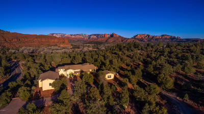 Sedona Single Family Home For Sale: 3600 Red Rock Loop