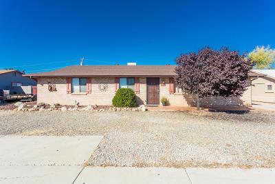 Prescott Valley Single Family Home For Sale: 3400 N Navajo Drive