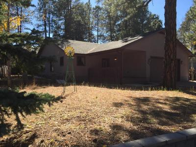 Flagstaff Single Family Home For Sale: 1925 W University Heights Drive