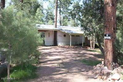 Payson Single Family Home For Sale: 100 W Pinon Circle