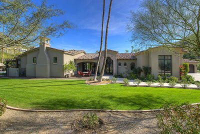 Paradise Valley Single Family Home For Sale: 7101 N 40th Street