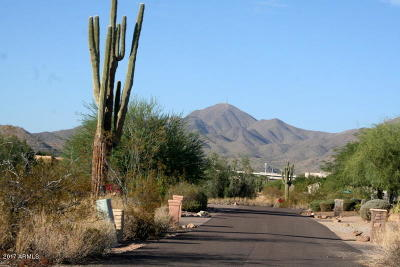 Scottsdale Residential Lots & Land For Sale: 9850 N 126th Street