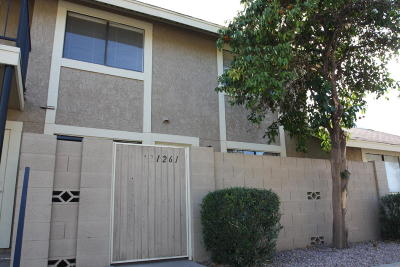 Scottsdale Condo/Townhouse For Sale: 1261 N 84th Place