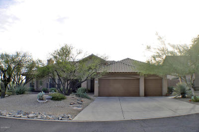 Scottsdale Single Family Home For Sale: 12661 E Kalil Drive
