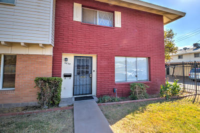 Glendale Condo/Townhouse For Sale: 6655 N 44th Avenue