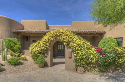 The Boulders, The Boulders Carefree, The Boulders Carefree 2 Phase 2 Replat, The Boulders Carefree 4 Ph 1, The Boulders Carefree 4 Phase 1 Single Family Home For Sale: 7878 E Sunflower Court