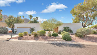 Phoenix Single Family Home For Sale: 4711 E Palo Verde Drive