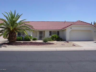 Sun City West Single Family Home For Sale: 14717 W Sentinel Drive W