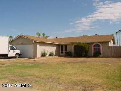 Peoria Single Family Home For Sale: 7419 W Hatcher Road