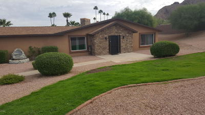 Paradise Valley Single Family Home For Sale: 6001 N Tatum Boulevard