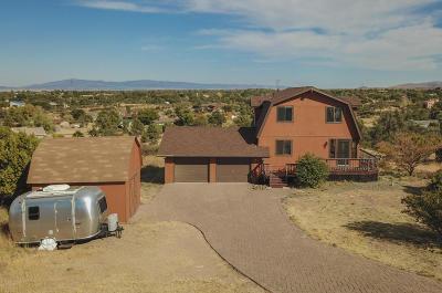 Prescott Single Family Home For Sale: 6665 N Harris Drive