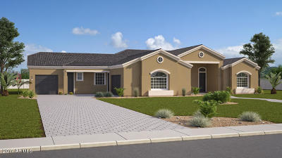 Chandler Single Family Home For Sale: Xxxx Lot07 W Hawkin Place