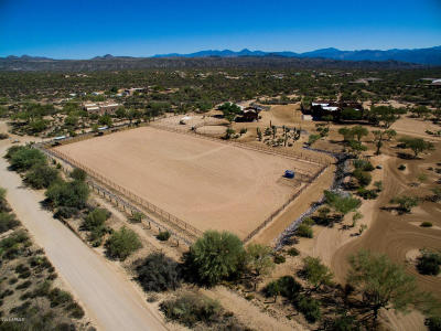 Rio Verde Foothills, Rio Verde Foothills Of North Scottsdale, Rio Verde Foothills Equestrian Estate Single Family Home For Sale: 13652 E Old Paint Trail