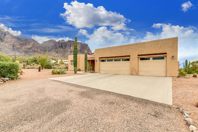 Apache Junction Single Family Home For Sale: 5677 E Singletree Street