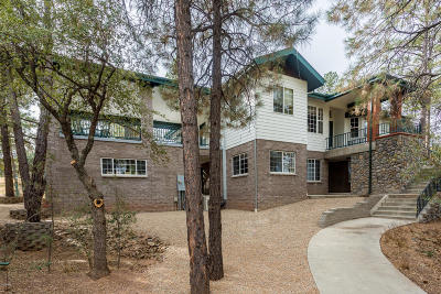 Prescott Single Family Home For Sale: 1691 W Sylvan Drive