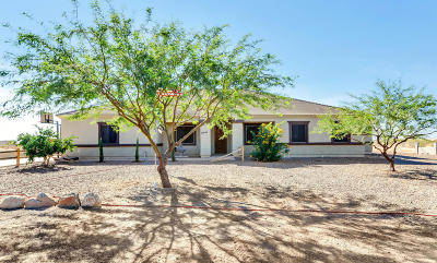 Wittmann Single Family Home For Sale: 21241 W Morning Vista Drive