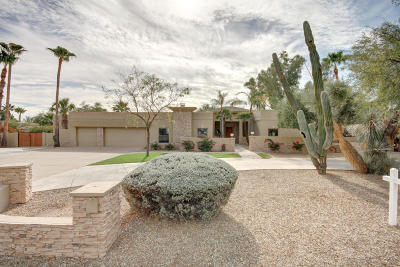 Cactus Corridor Single Family Home For Sale: 9911 E Jenan Drive