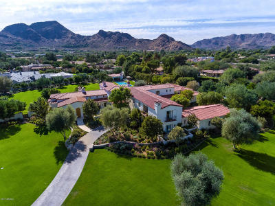 Paradise Valley Single Family Home For Sale: 8524 N Morning Glory Road