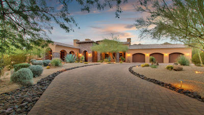 Cave Creek Single Family Home For Sale: 5532 E Canyon Ridge N Drive