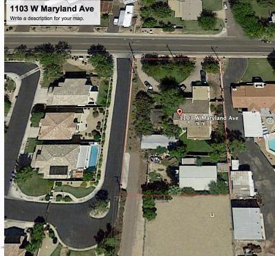 Phoenix Residential Lots & Land For Sale: 1103 W Maryland Avenue