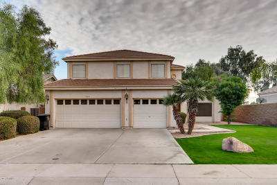 Gilbert Single Family Home For Sale: 969 S Western Skies Drive