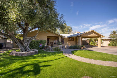 Phoenix Single Family Home For Sale: 3114 N Marigold Drive