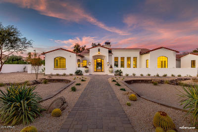 Paradise Valley Single Family Home For Sale: 5430 E Sapphire Lane