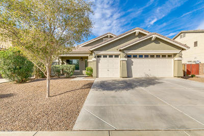 Maricopa Single Family Home For Sale: 22270 N Sunset Drive