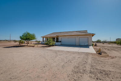 Single Family Home For Sale: 40075 W Wild Horse Trail