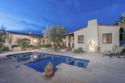 Paradise Valley AZ Single Family Home For Sale: $2,595,000