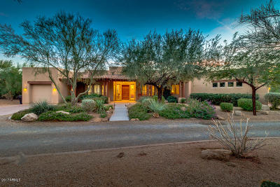 Scottsdale Single Family Home For Sale: 6939 E Burnside Trail