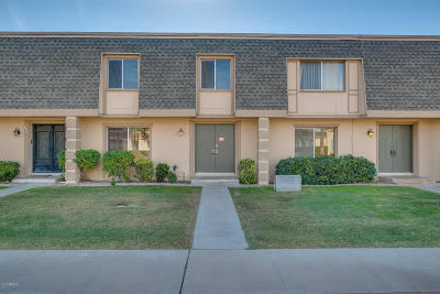 Scottsdale Condo/Townhouse For Sale: 4921 N Granite Reef Road