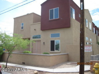 Phoenix Condo/Townhouse For Sale: 4216 N 27th Street #102