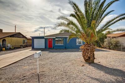 Phoenix Single Family Home For Sale: 2807 W Palm Lane