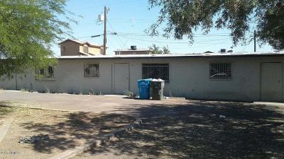 Phoenix Single Family Home For Sale: 1545 W Tonto Street