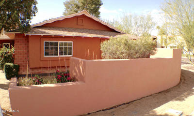 Scottsdale  Single Family Home For Sale: 8401 E Thomas Road
