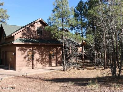 Show Low Single Family Home For Sale: 4110 Sugar Pine Loop