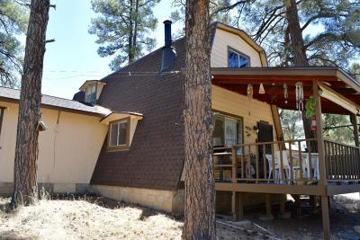 Overgaard Single Family Home For Sale: 3031 Ponderosa Road