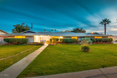 Phoenix Single Family Home For Sale: 4109 N 33rd Place