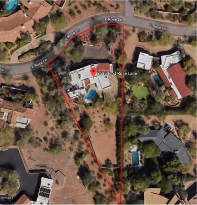 Paradise Valley Residential Lots & Land For Sale: 3535 E Rose Lane