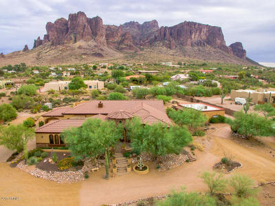 Apache Junction Single Family Home For Sale: 3719 N Canyon Crest Place