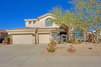 Scottsdale Single Family Home UCB (Under Contract-Backups): 7476 E Quill Lane