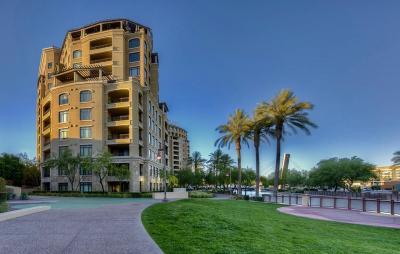Scottsdale Waterfront, Scottsdale Waterfront Residences, Scottsdale Waterfront Residences Condominium Apartment For Sale: 7175 E Camelback Road #501
