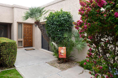 Scottsdale Single Family Home For Sale: 4525 N 66th Street #103