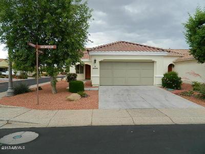 Sun City West Rental For Rent: 22425 N Los Gatos Drive