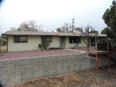 Prescott AZ Single Family Home For Sale: $184,700
