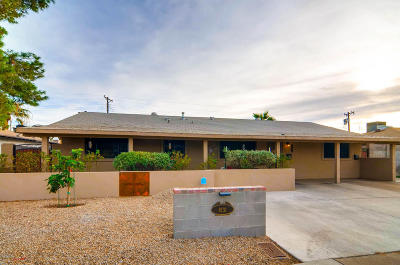 Scottsdale Multi Family Home For Sale: 8131 Indian School Road