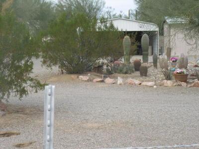 Quartzsite Single Family Home For Sale: 182 W Saguaro Lane