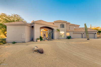 Fountain Hills Single Family Home For Sale: 11742 N Spotted Horse Way